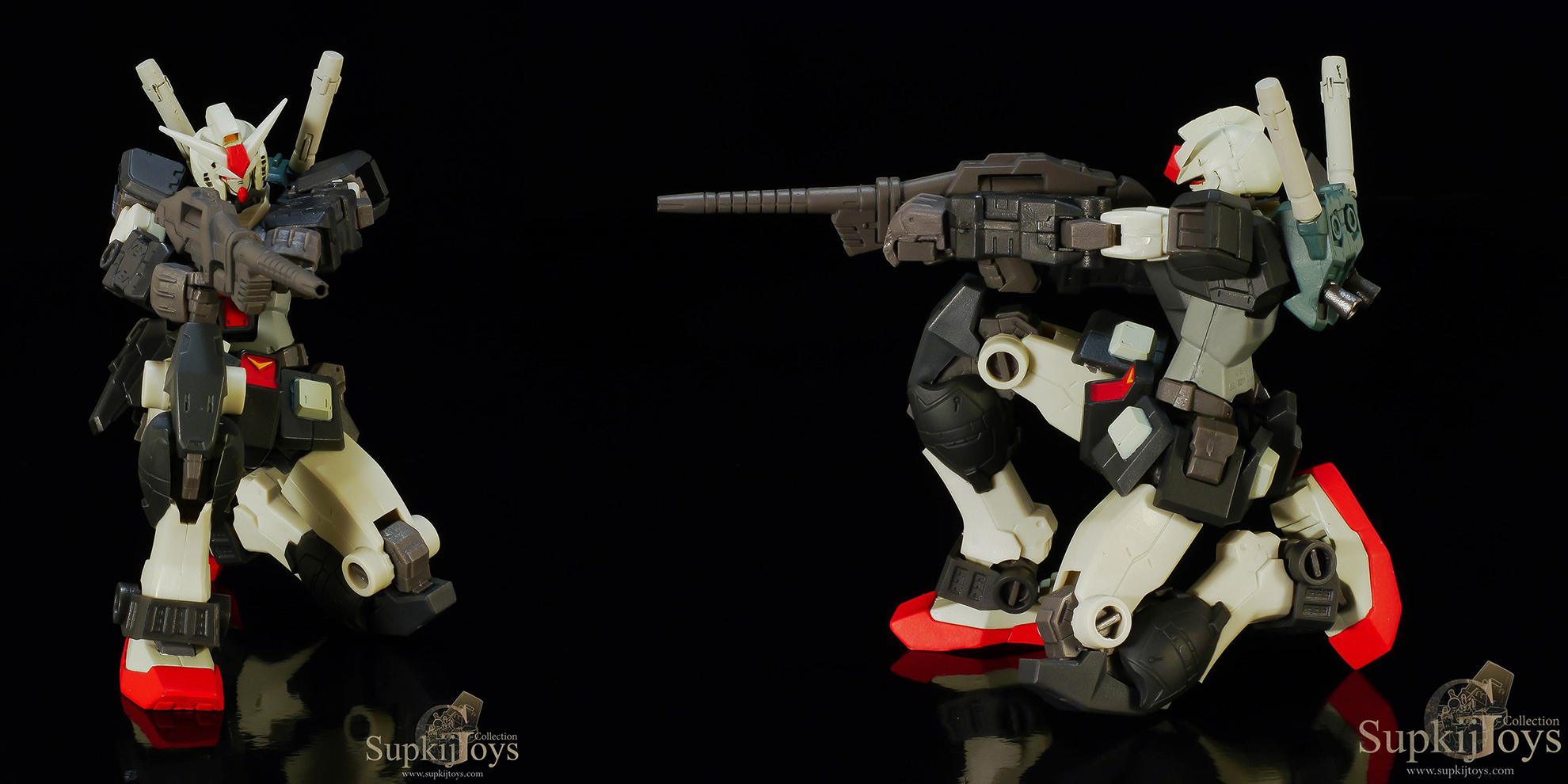 Banpresto Gundam Series Special Creative Model EX Mobile Suit Gundam MSV 2 - RX-78-1 Prototype Gundam & MS-06R-2 Zaku II High Mobility Type [Johnny Ridden's Custom]