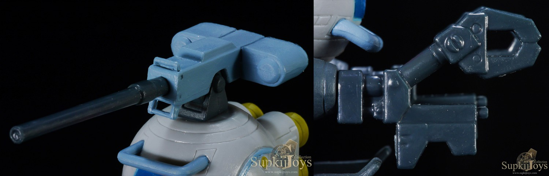 Banpresto Ichiban Kuji Figure Selection Mobile Suit Gundam Thunderbolt [E Prize] RB-79 Ball [Thunderbolt Ver.] Lo & Daryl's Radio Set