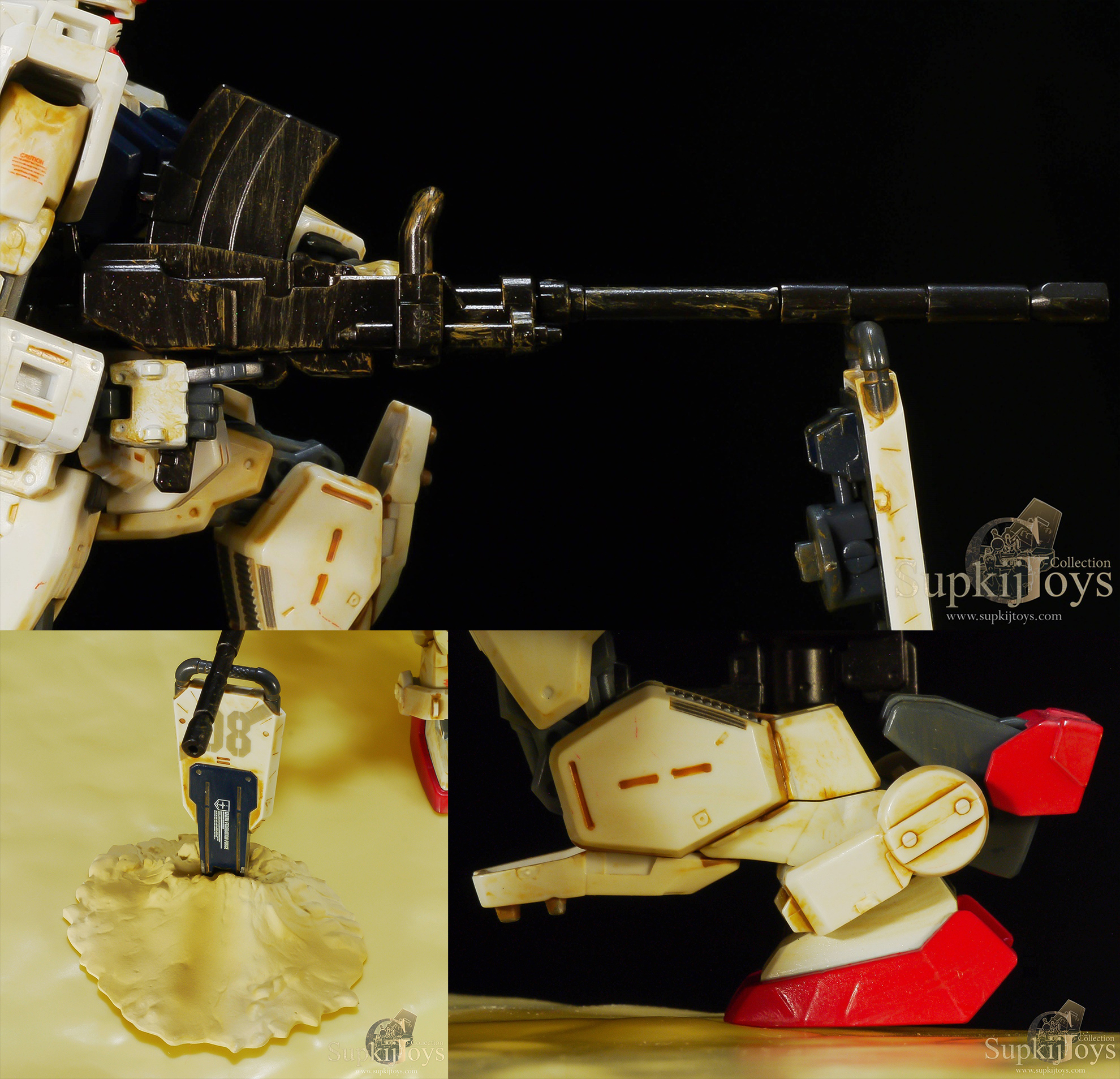 HCM-Pro High Complete Model Progressive Special Painted SP-004 RX-79[G] Gundam Ground Type [Special Painted Ver.]