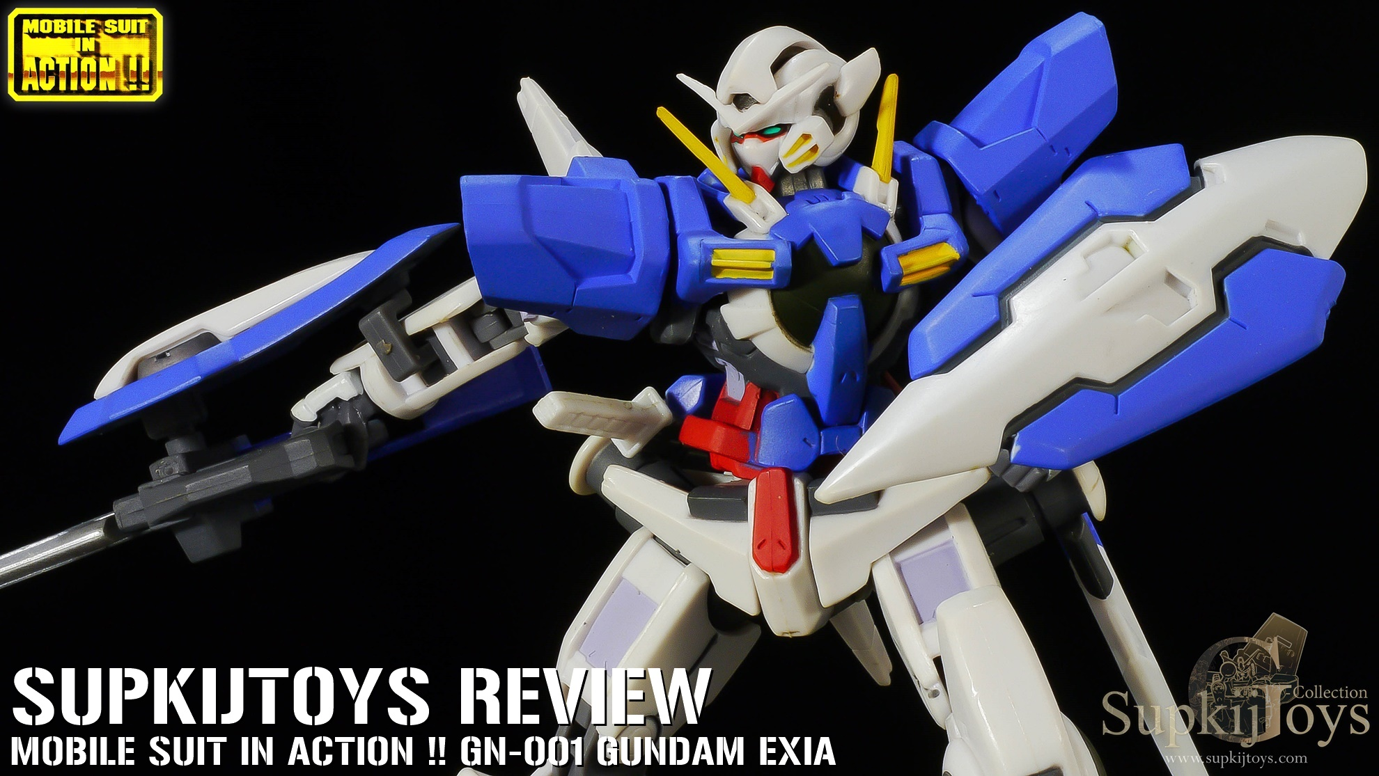 MIA MSIA Mobile Suit in Action !! GN-001 Gundam Exia