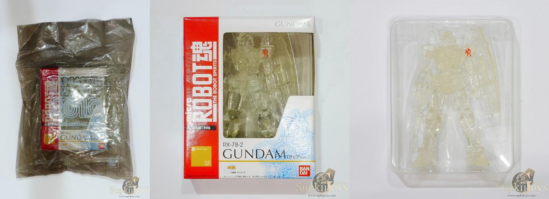 Micro The Robot Spirits Limited R-SP RX-78-2 Gundam [Clear ver.]