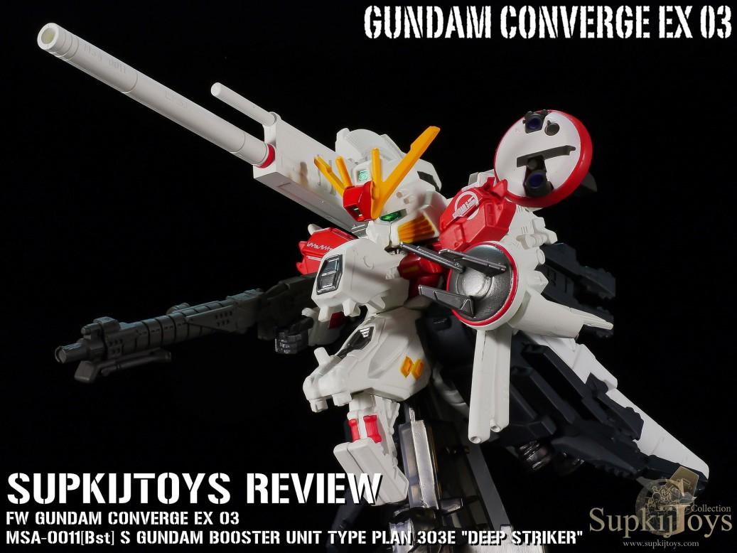 """FW Gundam Converge EX 03 MSA-0011[Bst] S Gundam Booster Unit Type Plan 303E """"Deep Striker"""""""
