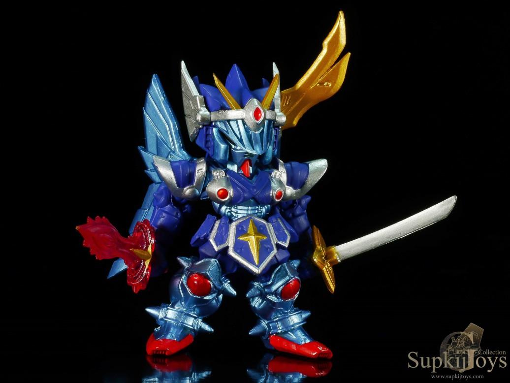 FW Gundam Converge EX 05 Musha Gundam & FW Converge EX 06 Full Armor Knight Gundam