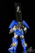 SupkijToys Gundam Series Kiba-Musha Den Real Type Figure Extra Edition Uesugi Kenshin Gundam - Figure