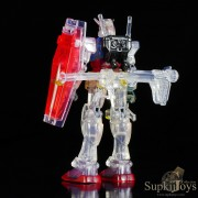 SupkijToys Mobile Suit in Action !! RX-78-2 Gundam [Colored Crystal Ver.] - Figure
