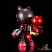 SupkijToys FW Gundam Converge Beargguy F Special Set KUMA-F Beargguy F [Family] [Special Marking Ver.Black] - Figure