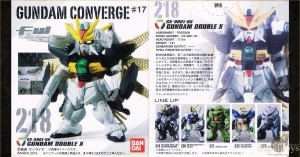 SupkijToys FW Gundam Converge #17 No.218 GX-9901-DX Gundam Double X - Main Product