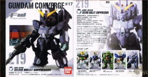 SupkijToys FW Gundam Converge #17 No.219 ARX-014S Silver Bullet Suppressor - Main Product